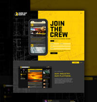 Hard Hat Hunter web design