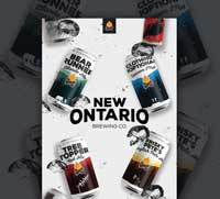 New Ontario Brewing website